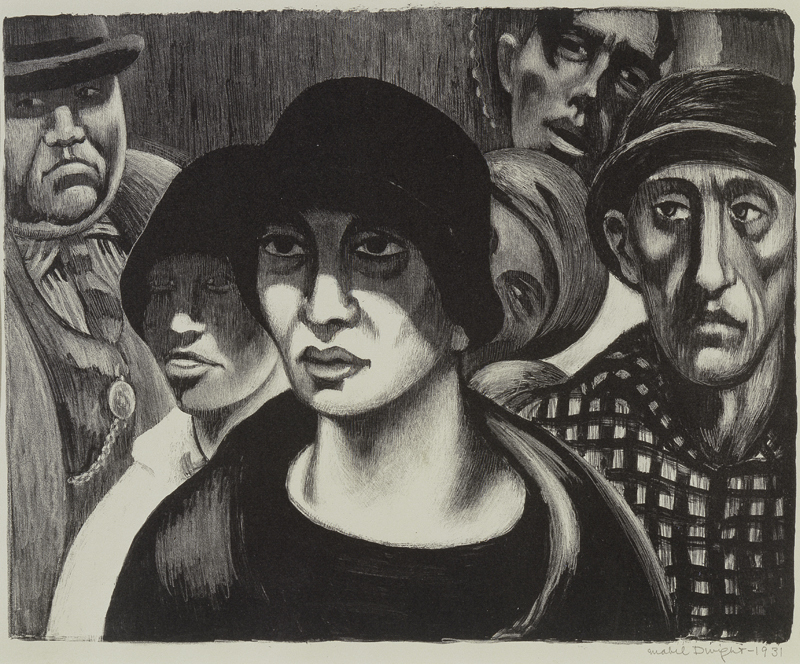 dwight-in-the-crowd-1931