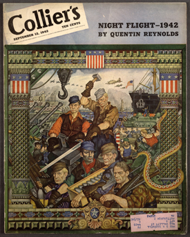 Szyk, Arsenal of Democracy, Collier's Magazine, 1942