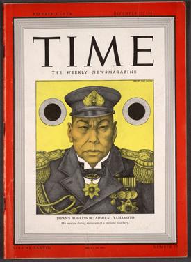 Admiral Yamamoto, Time Magazine, 1941